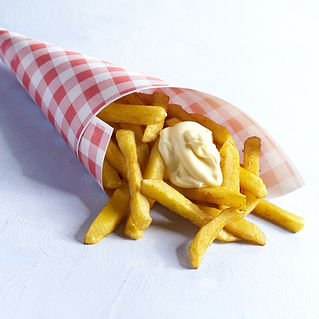 patat frites friet mayonaise