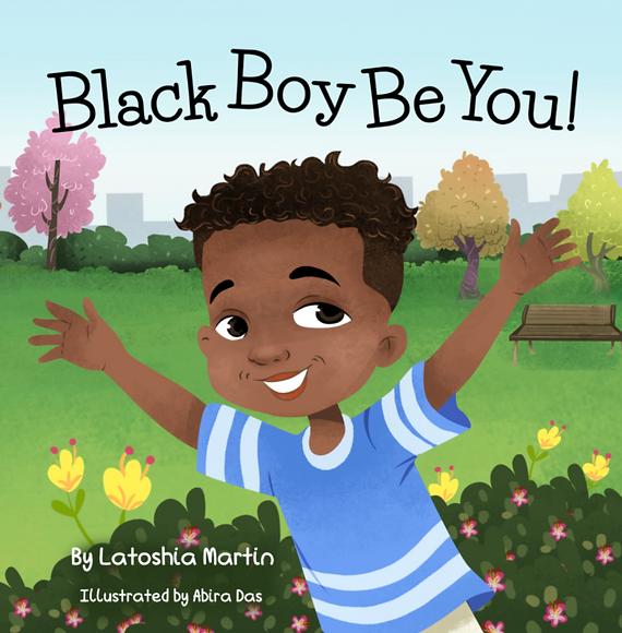 Black Boy Be You Children's Book