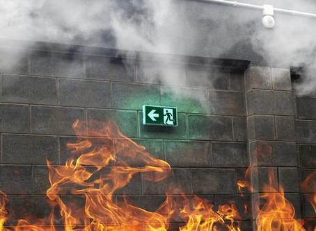 MUCHO OJO, con la protección contra incendio en las nuevas construcciones de edificios en Colombia.