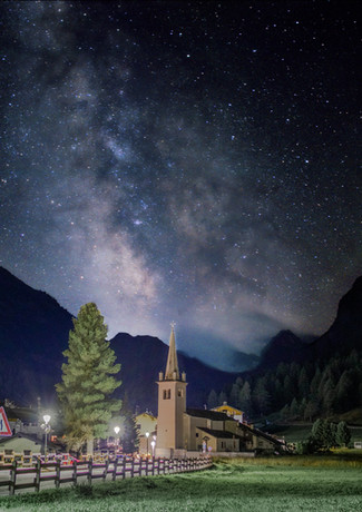 Rhemes Notre Dame, Milky Way