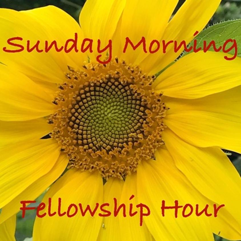 Sunday Morning Fellowship Time