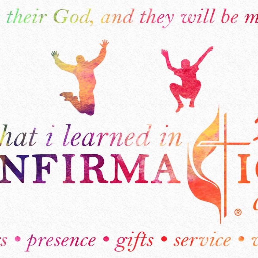 Confirmation Celebration on Pentacost Sunday