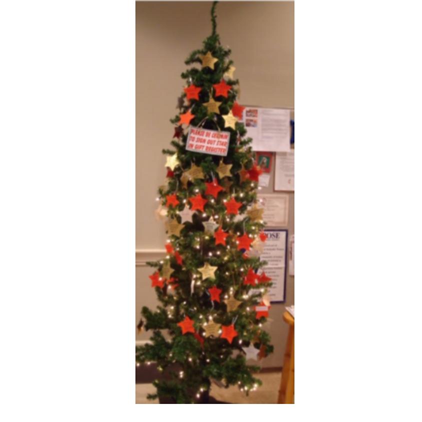 CAMP YDP CHRISTMAS TREE