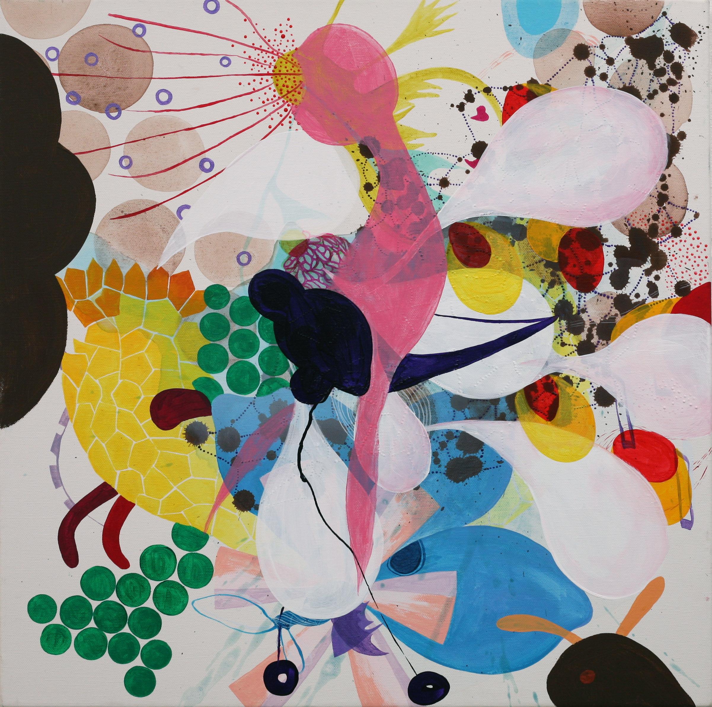 Joyride, acrylic on canvas 2014