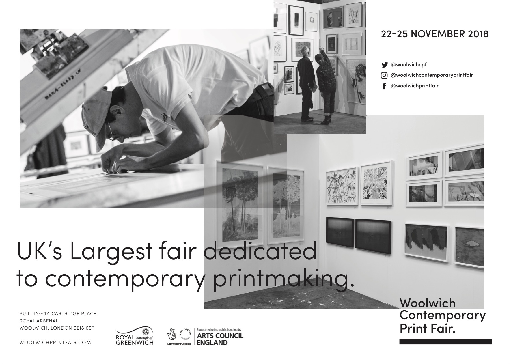 Woolwich Print Fair 2018