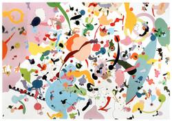Spread Out Acrylic on canvas    218.5x157 cm  2001