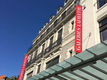 Banderoles Galeries Lafayette