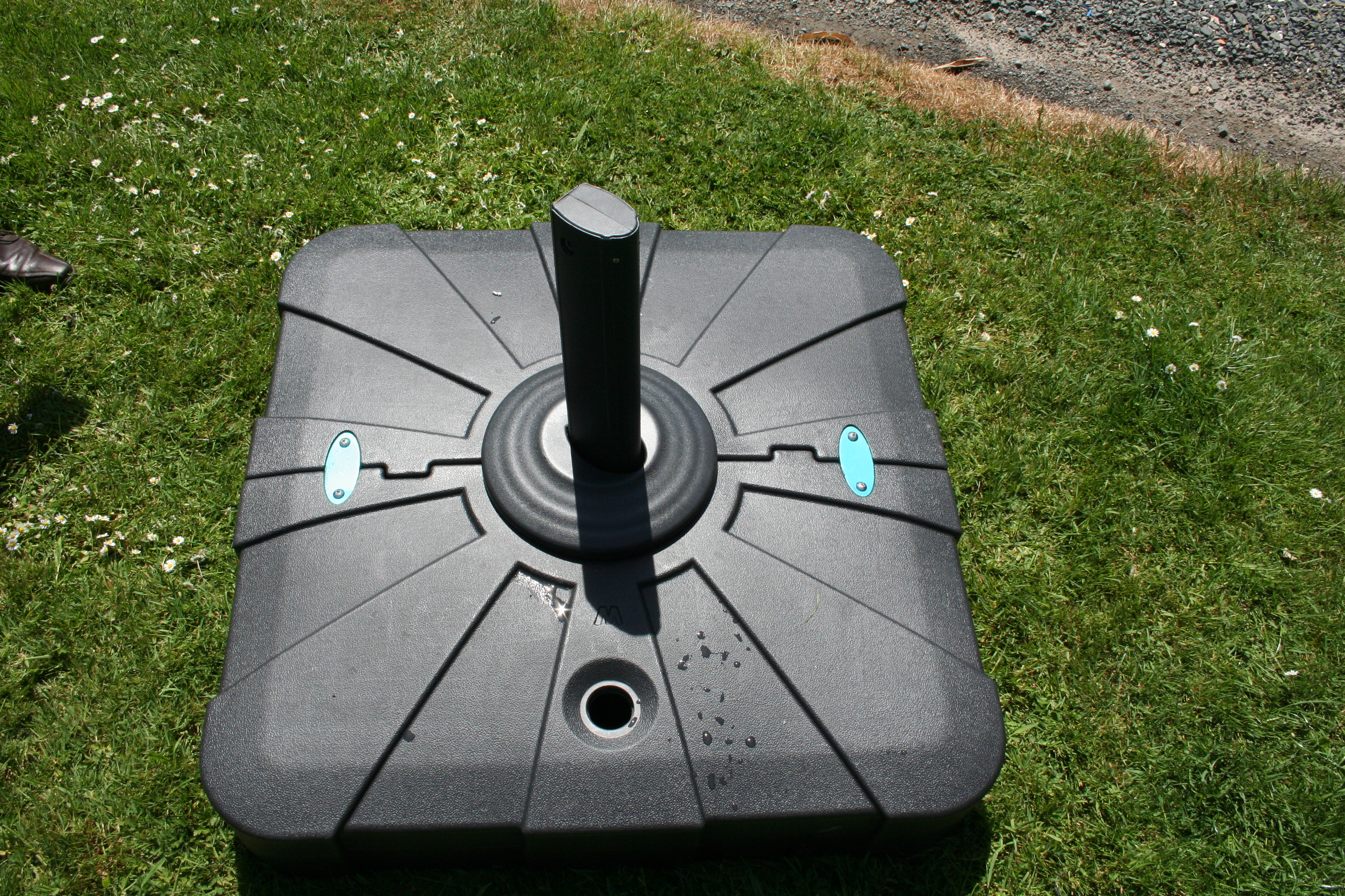 socle Parasol Carré d'ombre