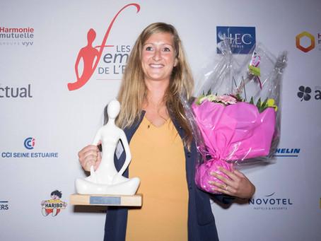 Déborah PEYRUCQ Dirigeante de Socotex est lauréate du prix Femme Dirigeante !