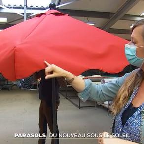 Les Parasols Socotex au JT de 20 h sur TF1