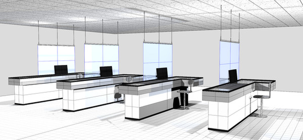 covid barrier for cash register