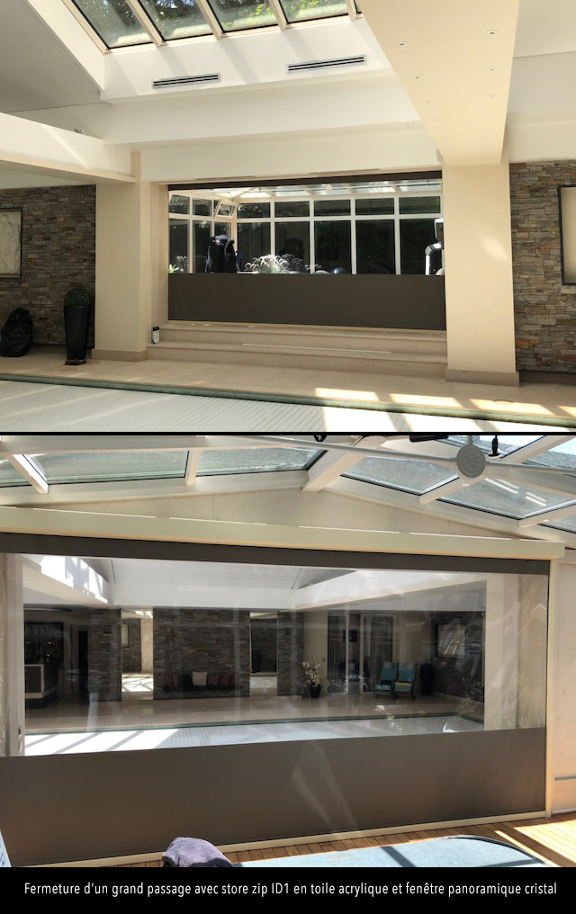 store id1 cristal acrylique interieur