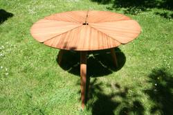 Table bambou petale_6885