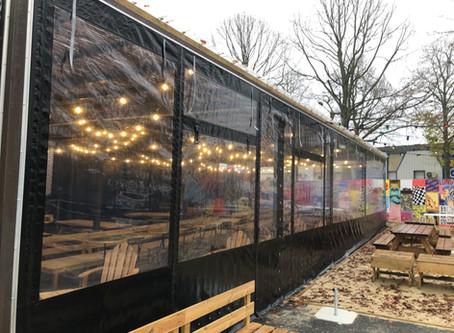 Fermeture de terrasse pour l'hiver