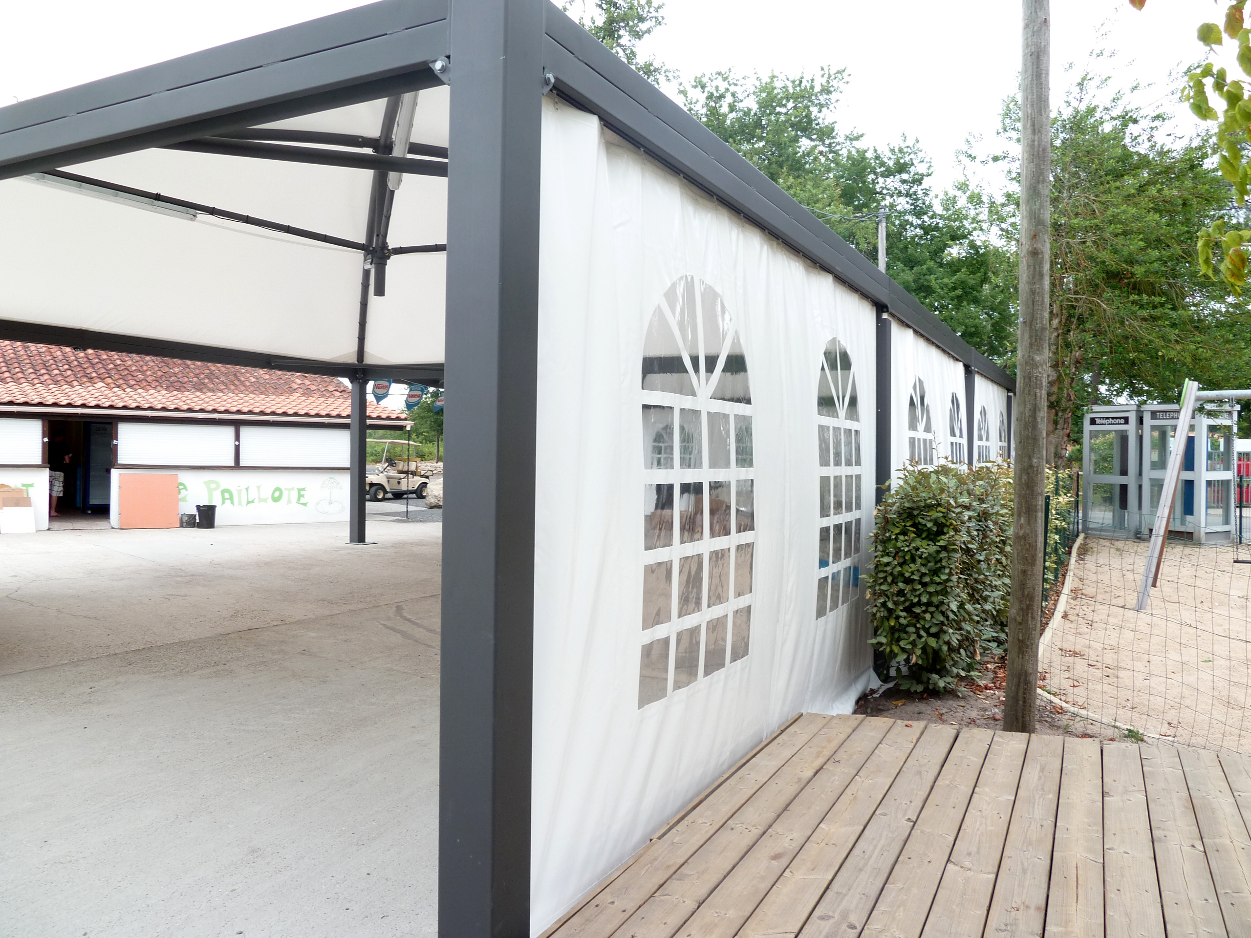 terrasse pour camping abridrive®