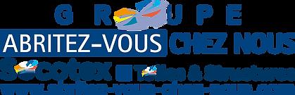 logo Groupe Abritez-vous chez nous, Socotex, Toiles & Structures