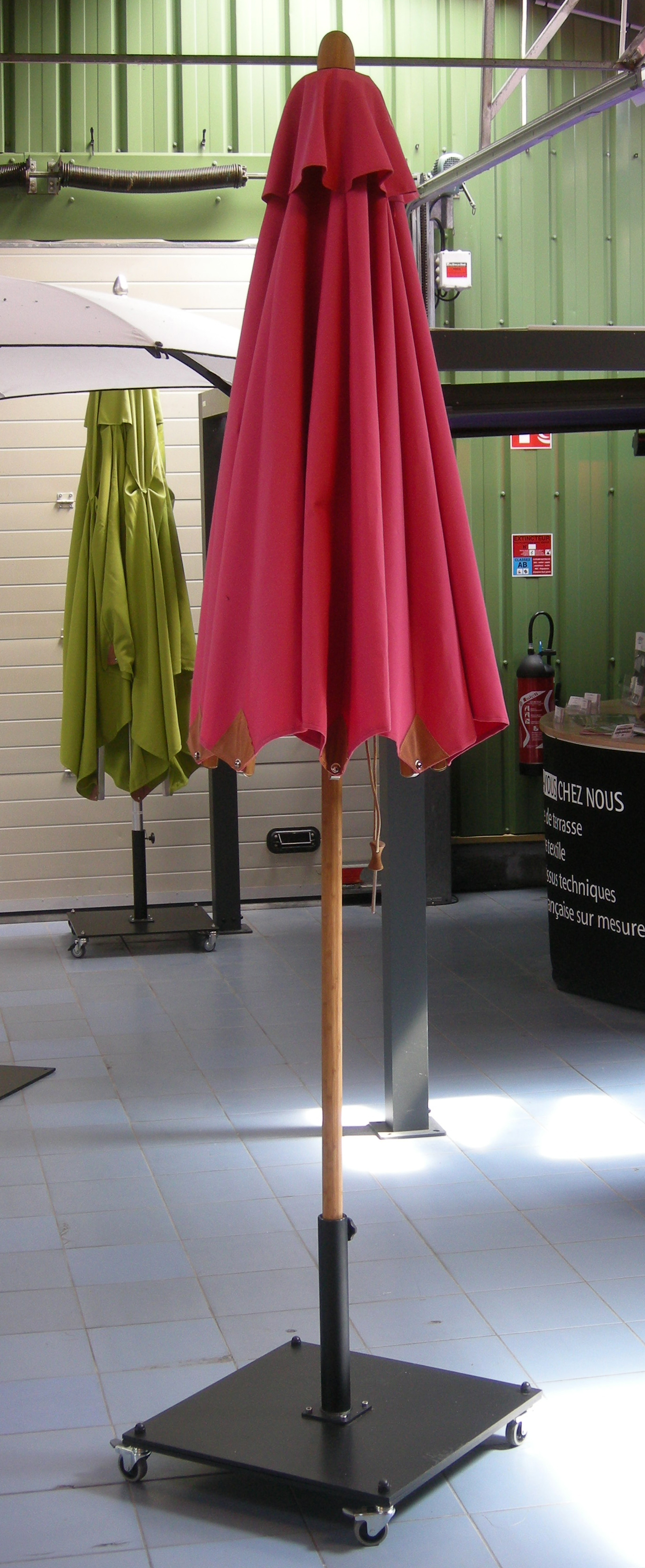 bistrobambou repliér Ø2.5m
