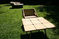 Table bambou rubi et fauteuil panda_6877