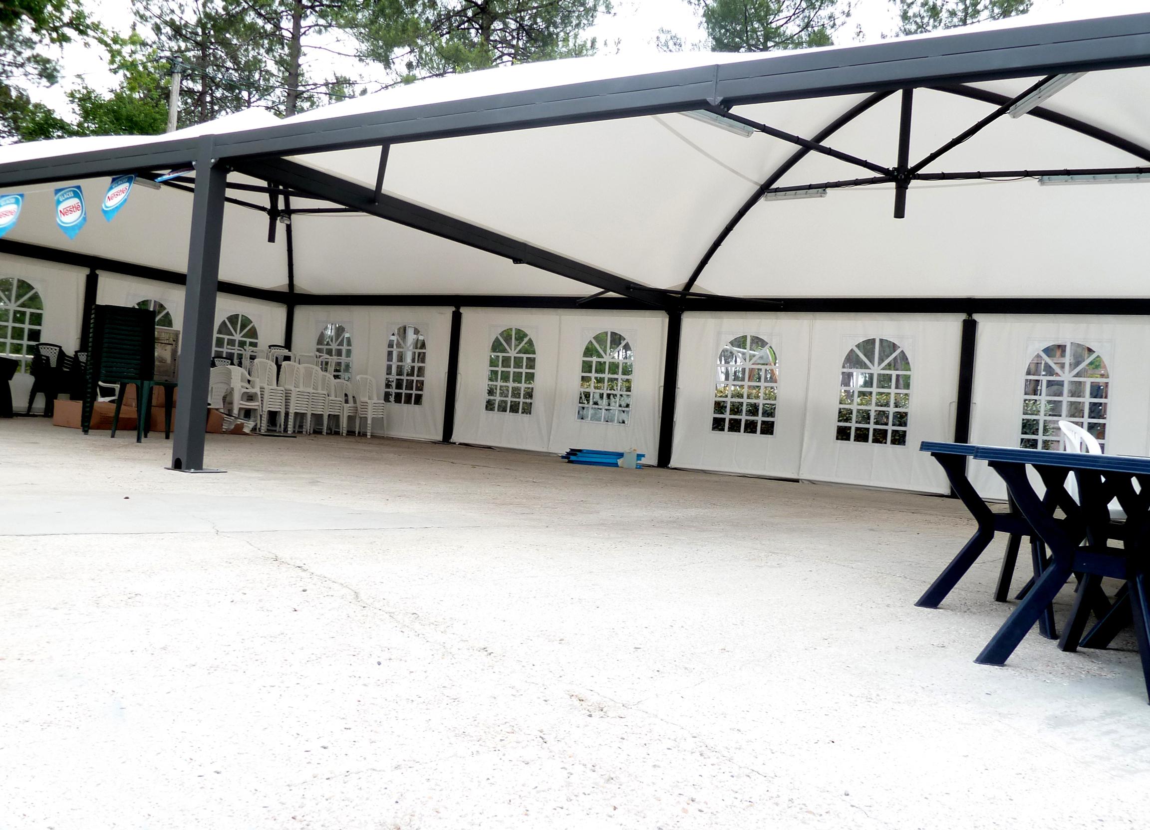 Couverture terrasse de camping