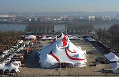 Abri Cirque, chapiteau de cirque ou pour l'événementiel