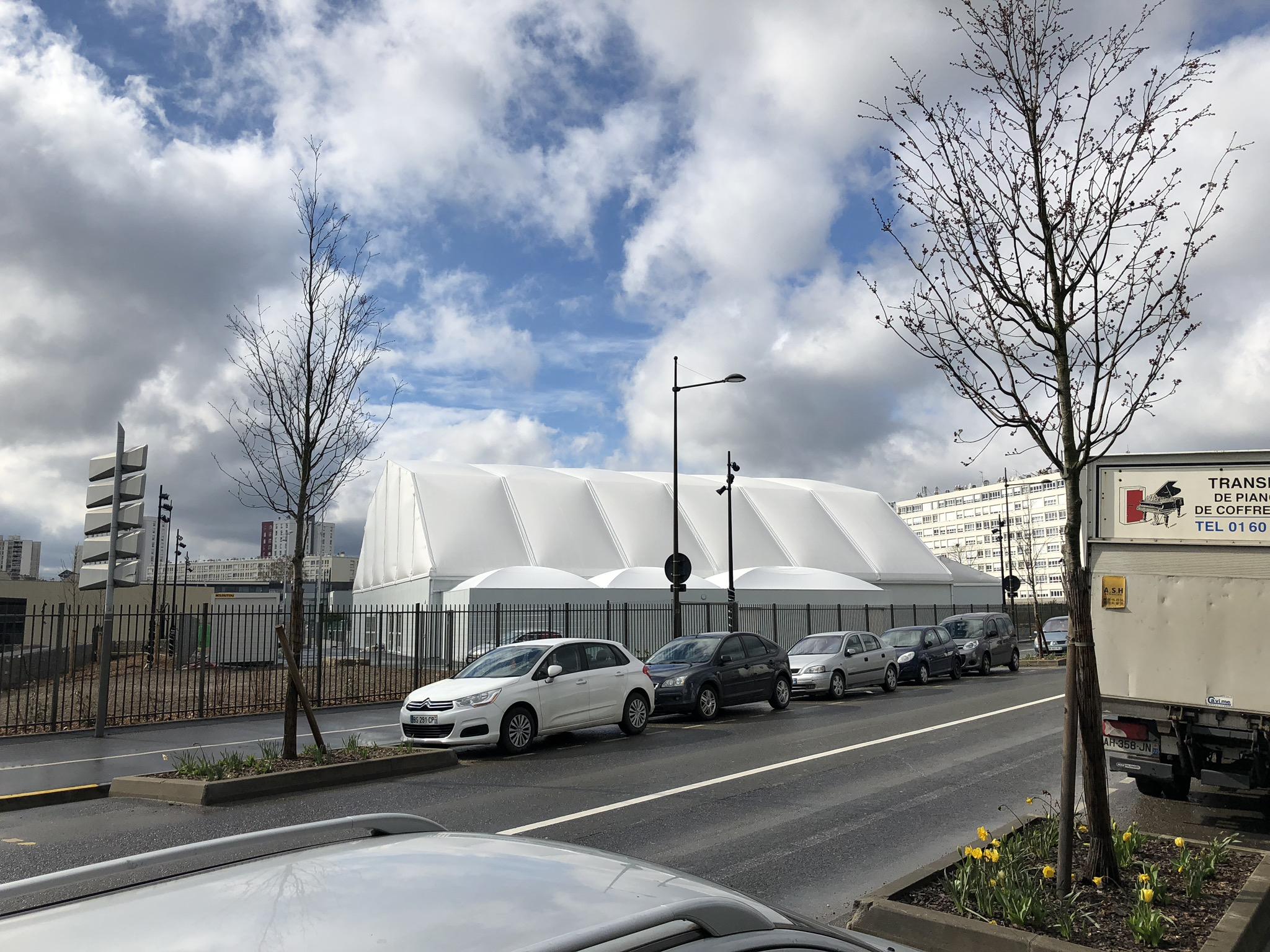 Salle JeanVilar - Chantier Socotex Argen
