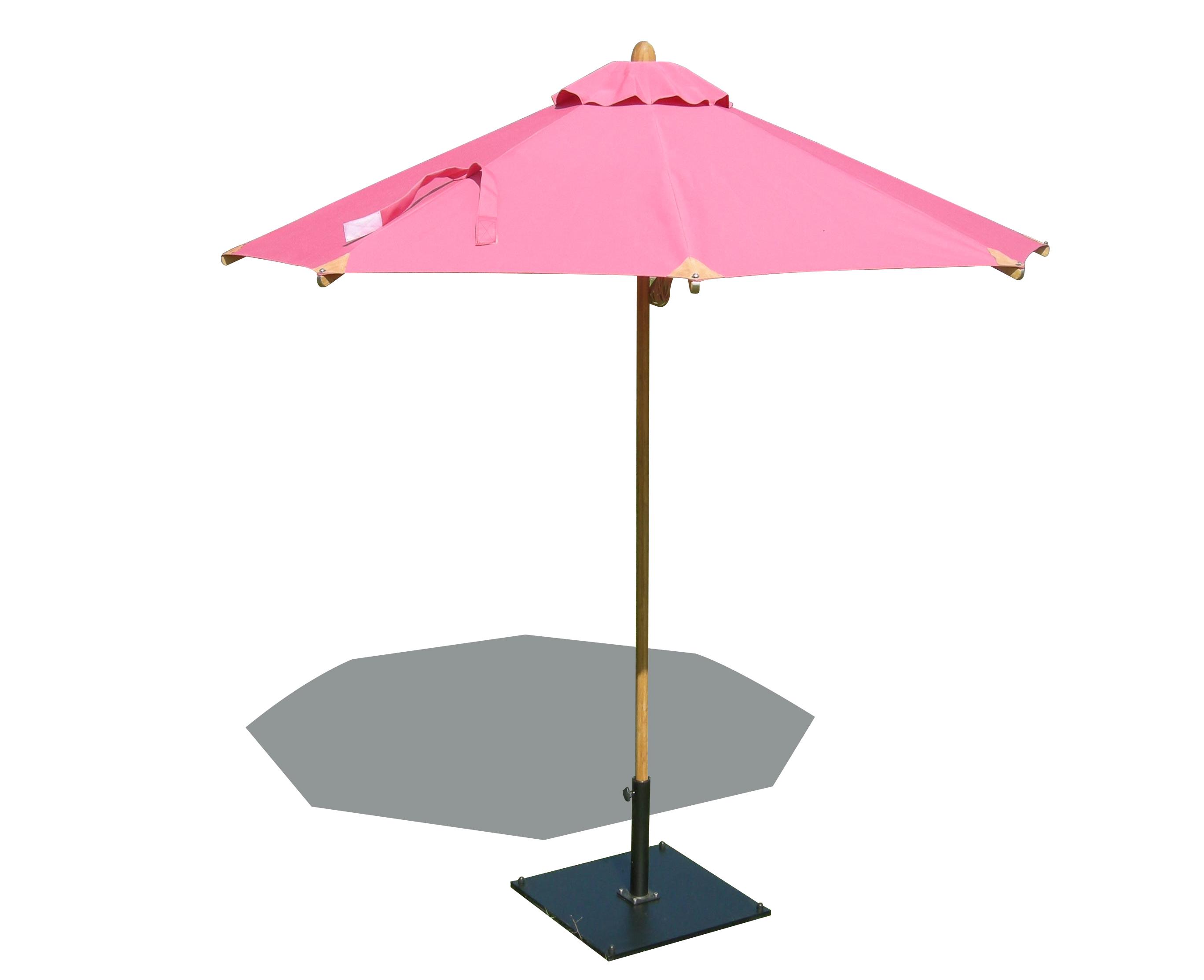 2.5 RND bistro bambou sunbrelladet