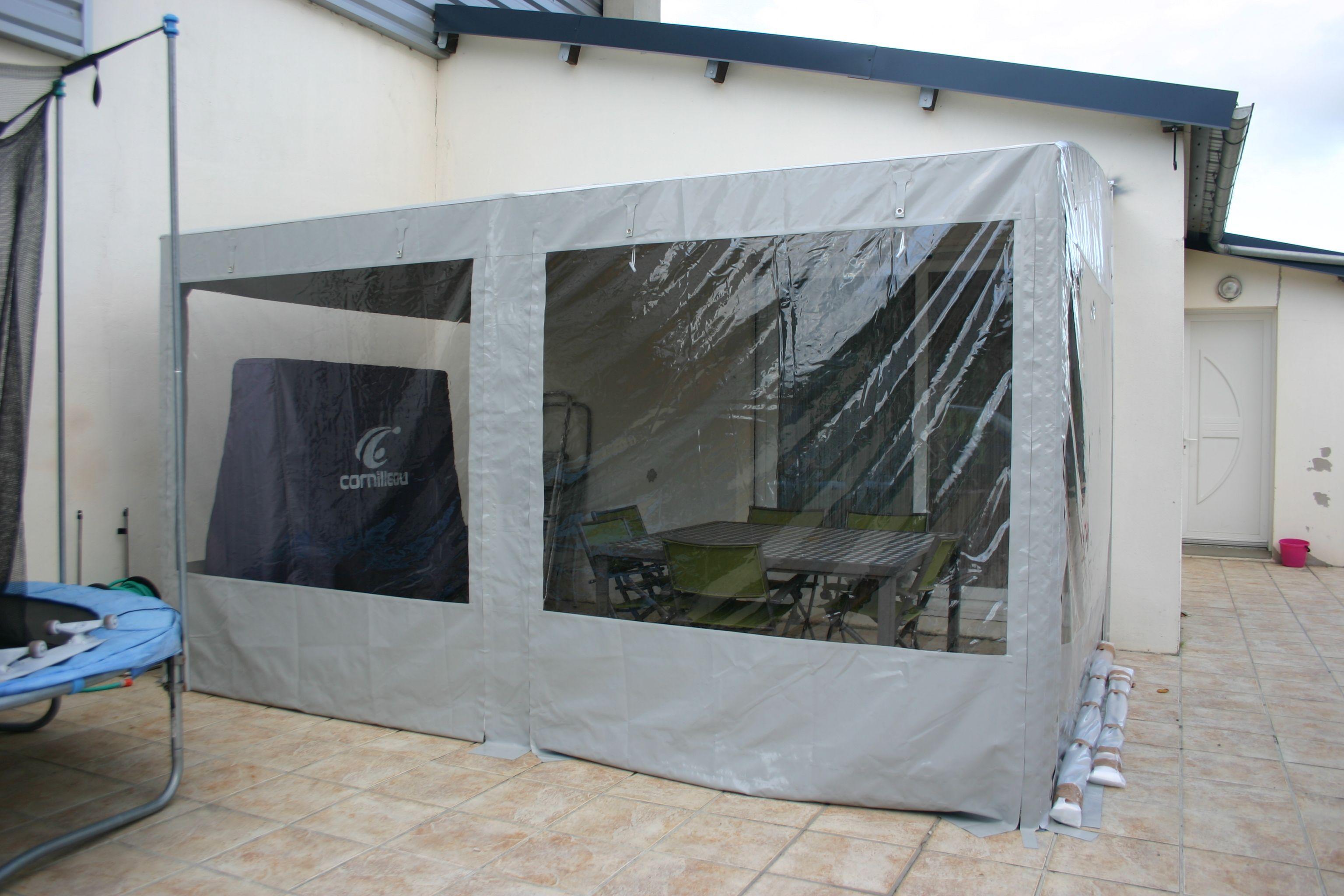 confection toile habillage couverture et fermetures structure pergola