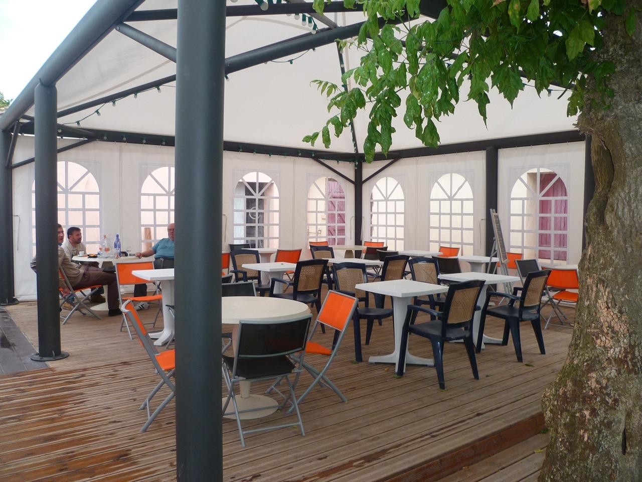 Terrasse CHR abridune