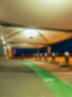 abri couverture textile sur mesure, des structures metallo-textile pour couvrir vos drives, passage, hall d'entrée, préau, espace de vente en extérieur