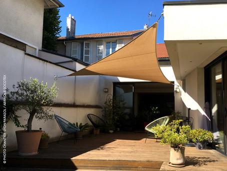 Abrivoile : gagnez de l'intimité vis à vis de votre voisinage et ombragez votre terrasse !