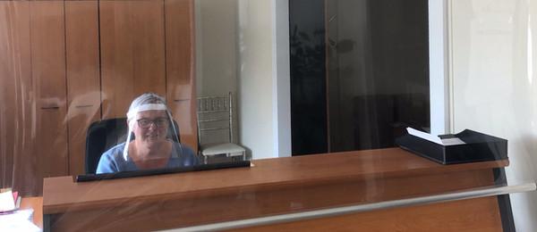 ecran de protection transparent covid