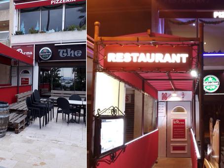 Mettez en lumière votre restaurant ou commerce en mettant de l'éclairage dans vos entoilages !
