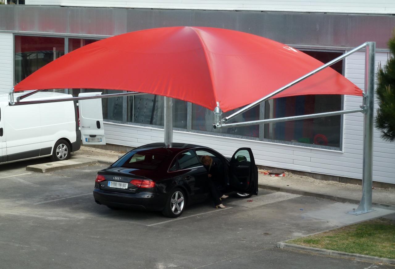 abridrive déporté pour parking