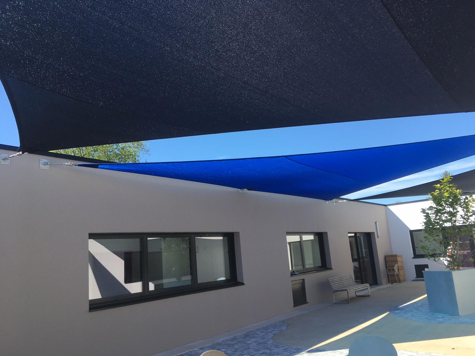 Abrivoile pour couverture de patio