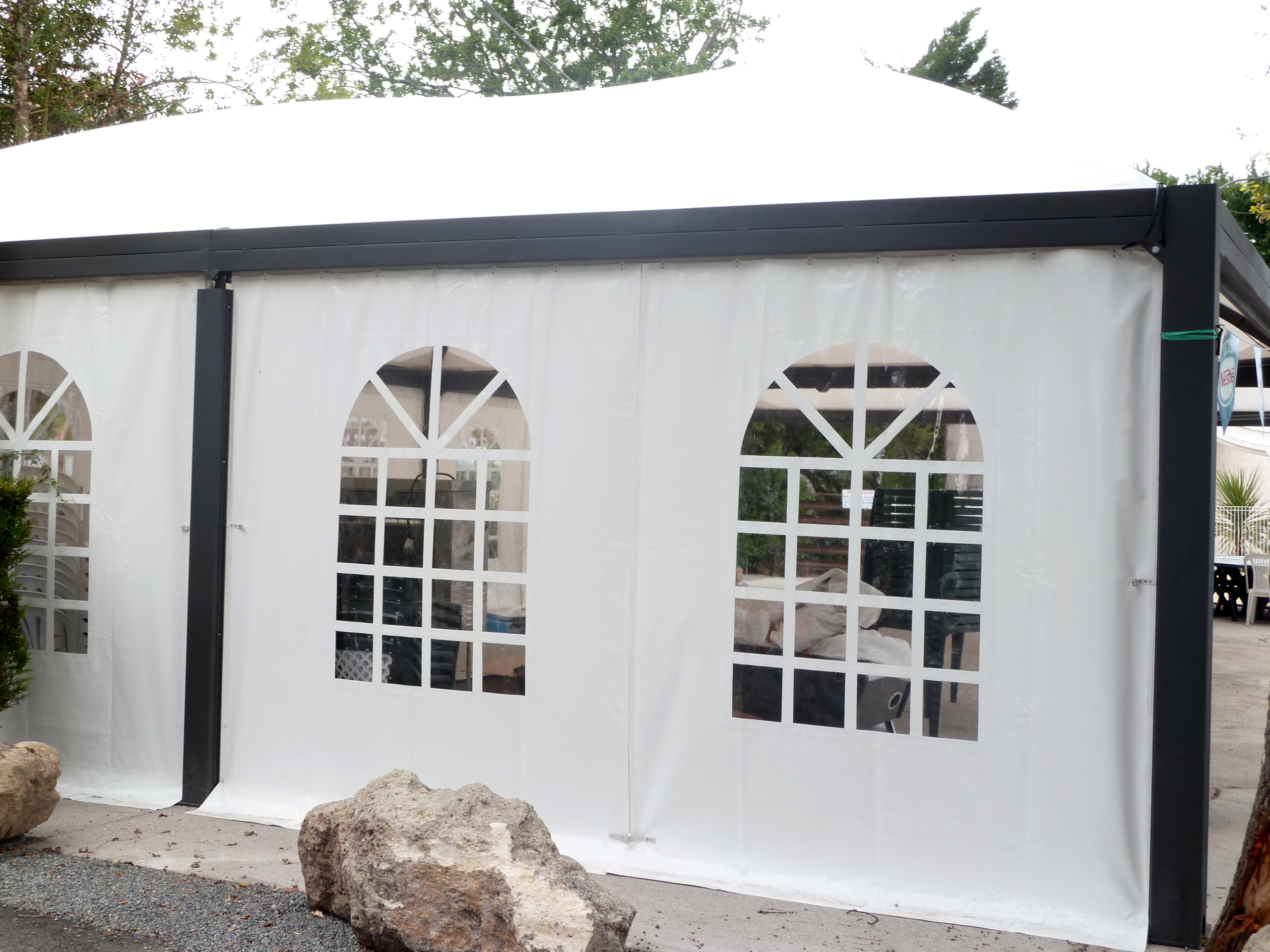 terrasse pour camping abridrive