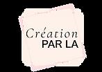 Logo CREATION PAR LA - simple HD.png