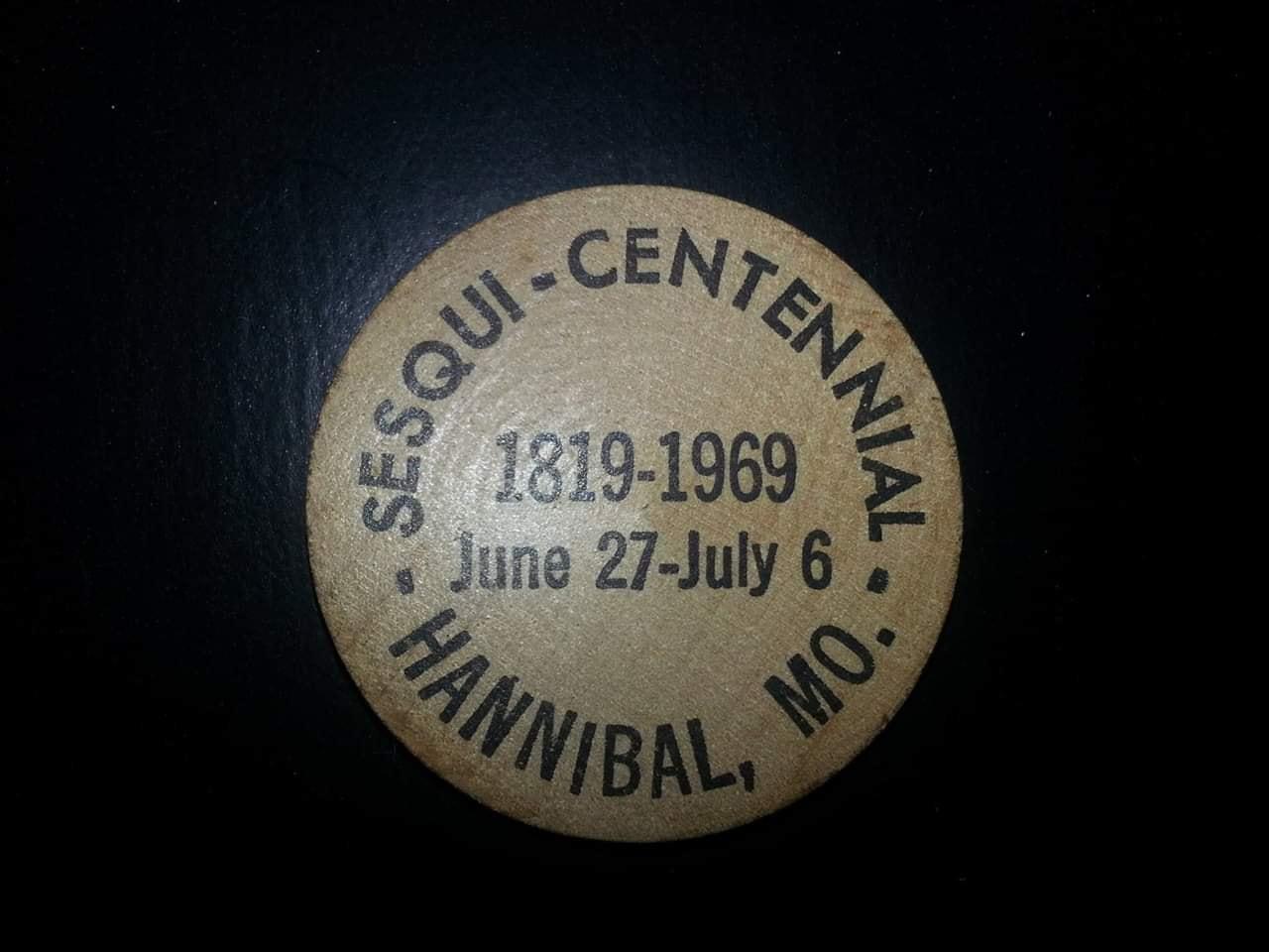 Wooden Nickel 1969