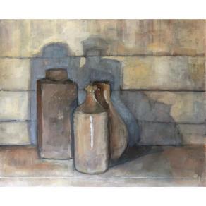 Three pots, three shadows