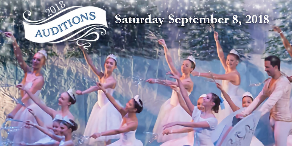 OPEN AUDITIONS - The Nutcracker