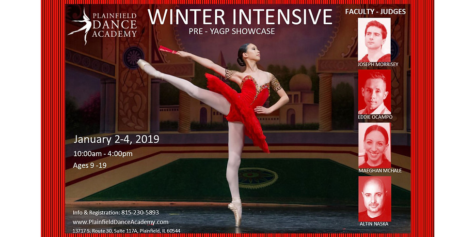 WINTER INTENSIVE Jan 2 - Jan 4 2019