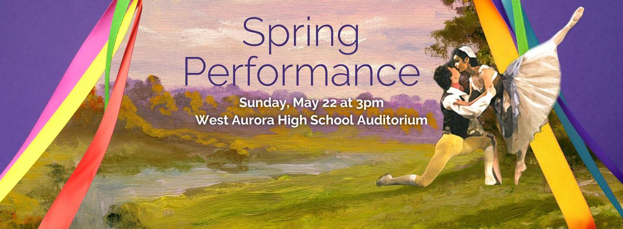 Spring Performance | 2016