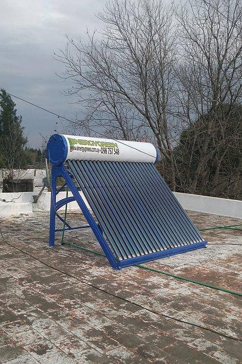 Calentador Solar 200 Lts No Presurizado Ac. Galvanizado Full Pipe