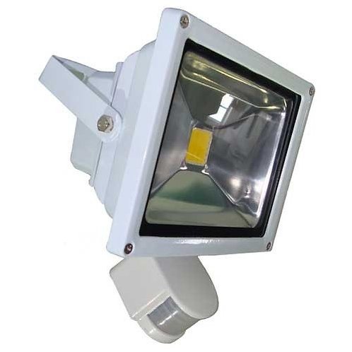 Reflector de Led de 20w Con Sensor de Movimiento