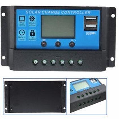 Regulador de Voltaje de 20 Amp Con Display Y Usb
