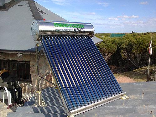 Calentador Solar 150 Lt No Presurizado Ac. Inoxidable Full Pipe