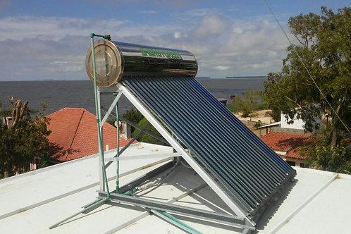 Calentador Solar 200 Lts Presurizado Ac. Inoxidable Tecnología Coil