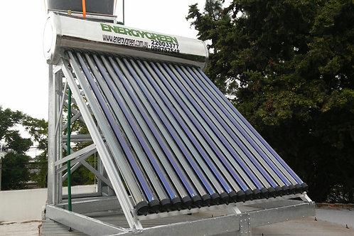 Calentador Solar 200 Lts Presurizado Ac. Inoxidable Heat Pipe