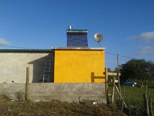 Calentador Solar 150 Lts Presurizado Ac. Inoxidable Tecnología Coil