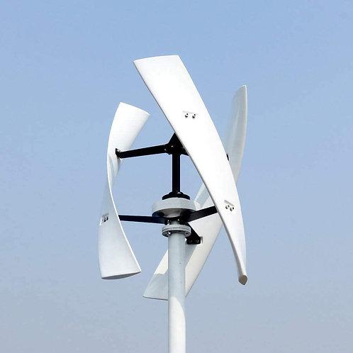 Aerogenerador Vertical 300w 12v Con Regulador