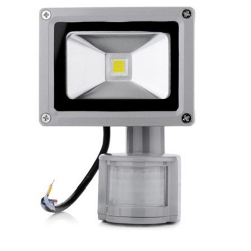Reflector de Led de 10w Con Sensor de Movimiento
